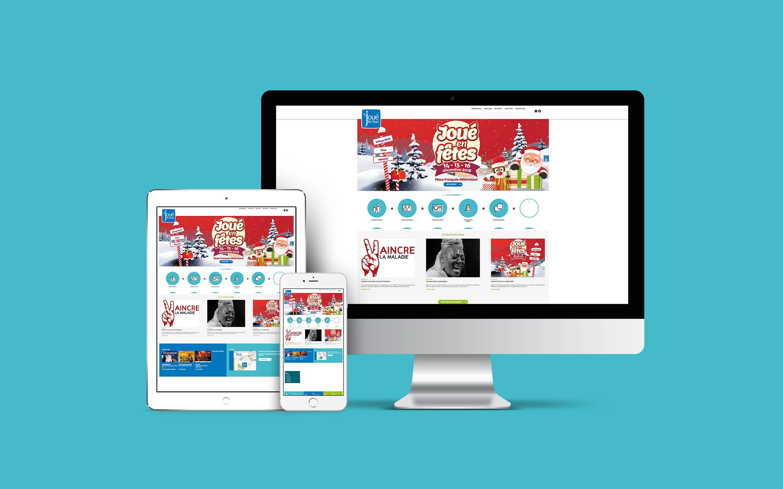 Agence conseil en communication nantes LATITUDE client joue les tours site web