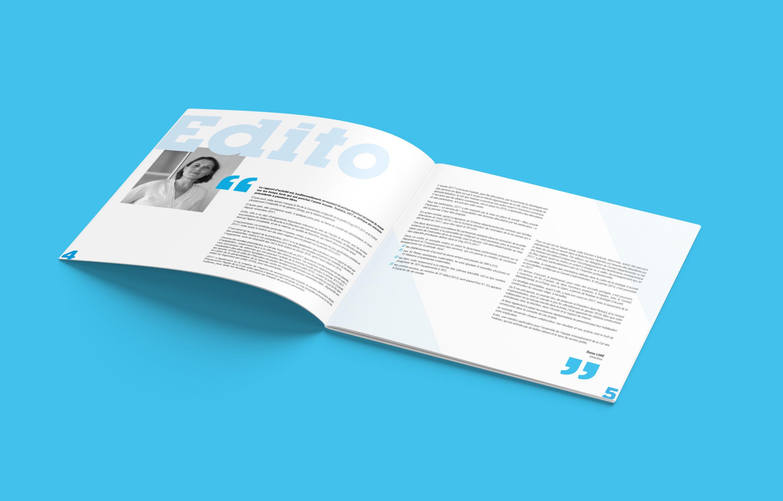 Agence conseil en communication nantes LATITUDE client caf des yvelines brochure rapport d'activitéAgence conseil en communication nantes LATITUDE client caf des yvelines brochure rapport d'activité